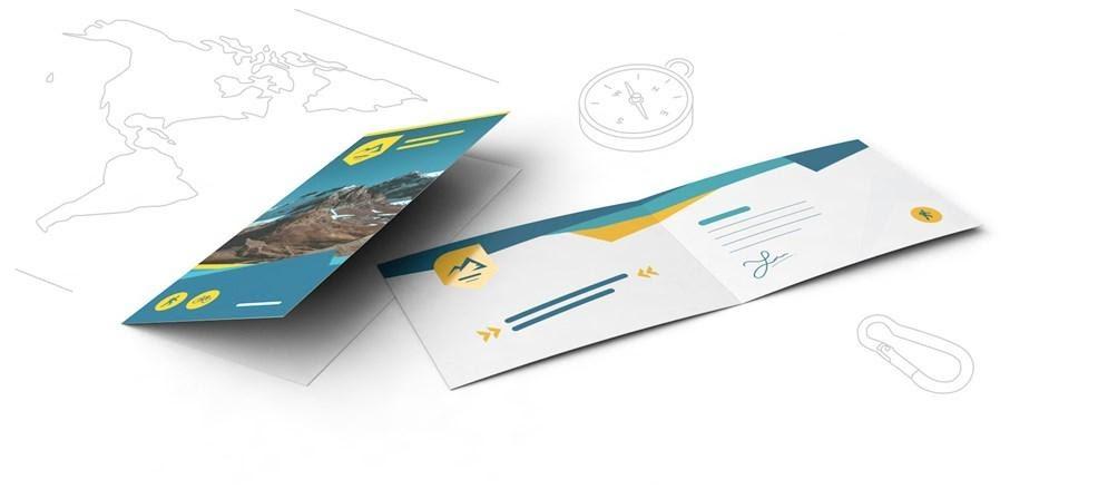 Broşür ve Flyer Örnekleri